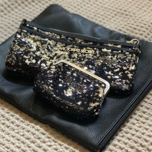 Sequin clutch set